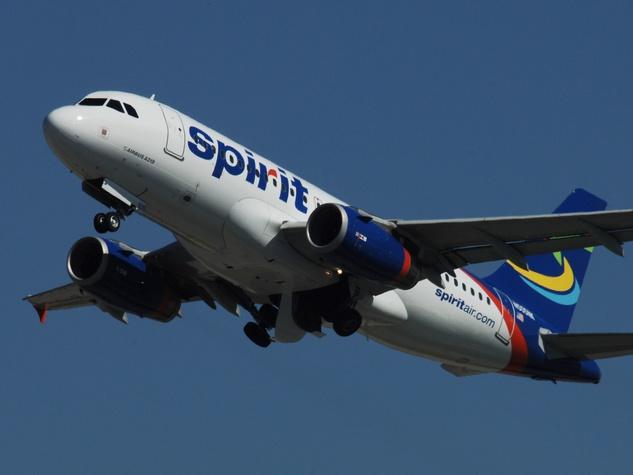 Spirit Airlines, jet, plane