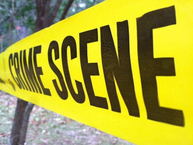 Crime scene, crime scene tape