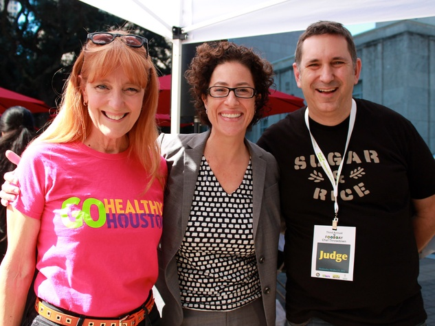 Food Day Chef Throwdown Gracie Cavnar, from left, Laura Spanjian and David Leftwich