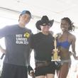 Hot Undies Run costume contest third-place winners