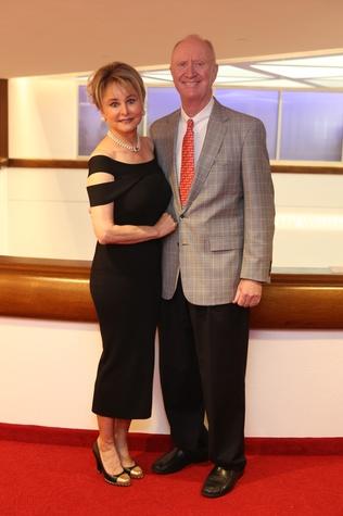 Born Yesterday Opening Dinner, 6/16 Michelle Hevrdejs, Frank Hevrdejs