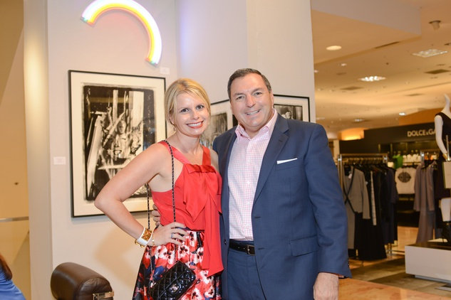 56 Valerie and Tracey Dieterich at the HFAF at Neiman Marcus Art of Fashion September 2014
