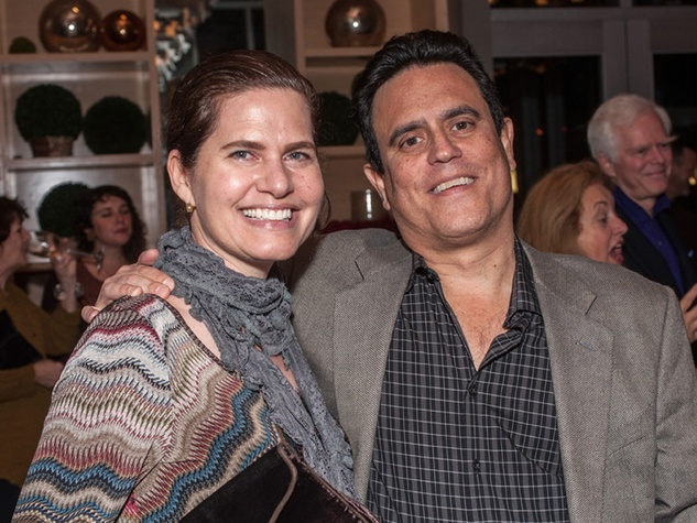 8 Fran and Alan Brochstein at the Bruce Munro VIP reception at Discovery Green November 2014