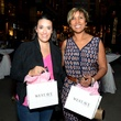 16 Vanessa Jones, left, and Narvello Neves at the West Ave Turns Pink party October 2013