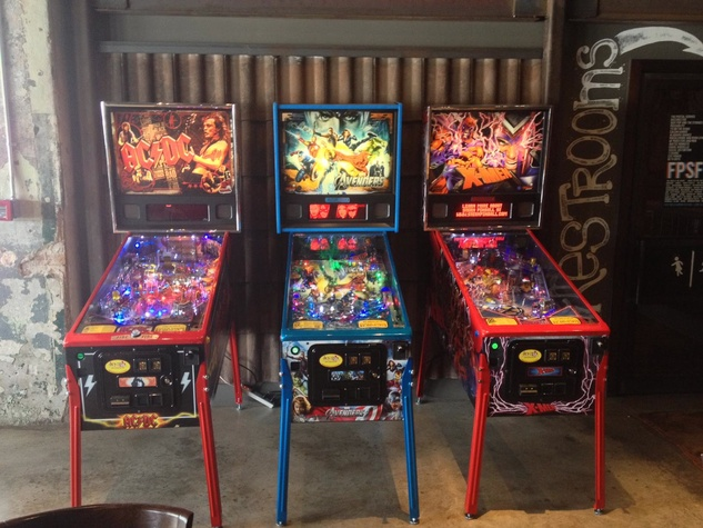 The Hay Merchant, pinball machines, games