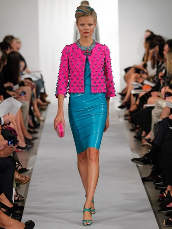 Clifford, Fashion Week spring 2013, Oscar de la Renta, September 2012
