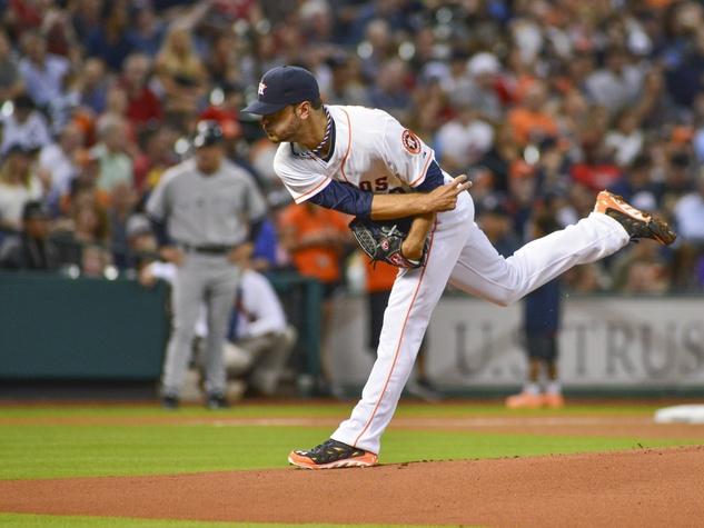Jared Cosart Astros Yankees