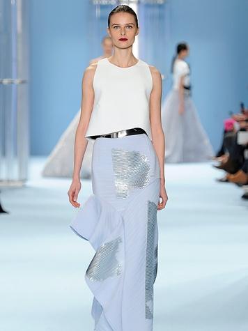Clifford New York Fashion Week fall 2015 Carolina Herrera Look 42