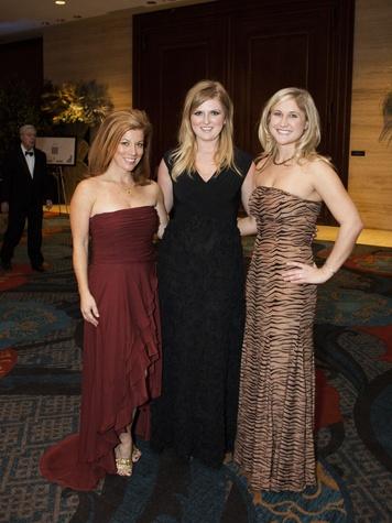 Paige Slates, Heather Hargett, Suzanne Renke, CrystaL Charity Ball 2013, Hilton Anatole