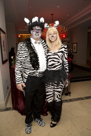 Mark and Newie Brinker at The Bash A Halloween Happening October 2014