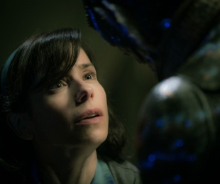 Miranda Hawkins and Doug Jones in The Shape of Water