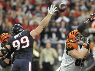 J.J. Watt hands up Bengals rematch