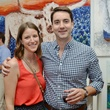 11. Mary Margaret Kinnan and Brandon Albritton at the Hanh Tran Gallery opening June 2014