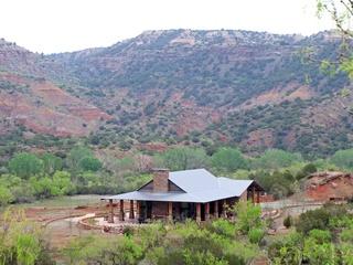 Palo Duro Canyon, pavilion