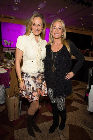 13 Rachel Regan, left, and Amy Dunn at the Nutcracker Market Macy's luncheon November 2014