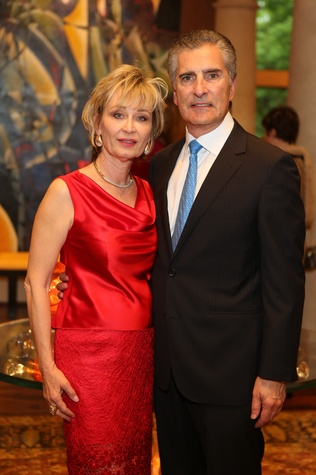 News, Shelby, Symphony underwriter dinner, April 2015, Cathy and Giorgio Borlenghi