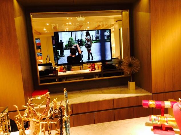 Elaine Turner TV screen