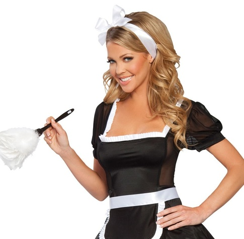 sexy maid service houston