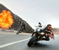 Tom Cruise in Mission: Impossible - Rogue Nation