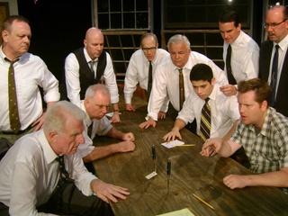 City Theatre Austin production of Twelve Angry Men