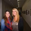 Haley Watson, left, and Tara Quell at the MFAH Art Crowd Party November 2014