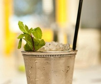 Mint julep at Sissy's Southern Kitchen & Bar in Dallas