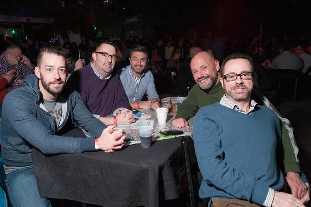 Charles Swan, Dr. Scott Allen, Oscar Perez, Douglas Sorensen, Travis Springfield at Charity in Song featuring Book of Mormon cast
