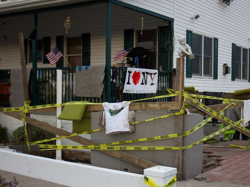 1, I Am Waters Disaster Relief, Superstorm Sandy, Elena Davis, November 2012, Breezy Point post sandy