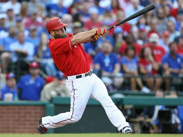 Mike Napoli of Texas Rangers
