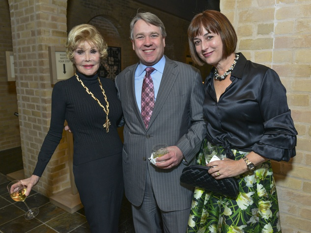 21 Joanne King Herring, from left, with Reggie and Leigh Smith at the Cason-Thrash Bulgari dinner April 2014