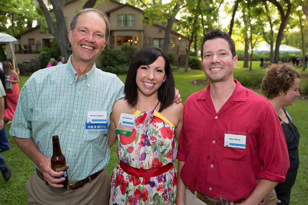 Robert Neblett, Sarah Richards, and Alan Rivas