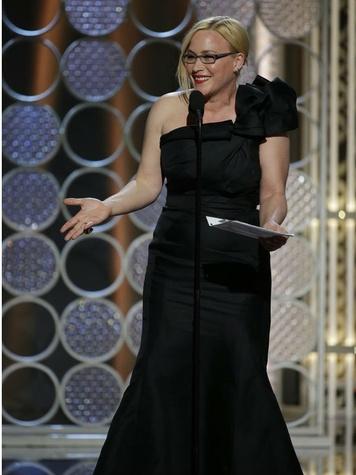 Patricia Arquette at the 2015 Golden Globe Awards