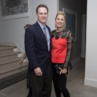 Houston, TCH Ambassadors holiday party, December 2017, Shea Morenz, Christine Morenz