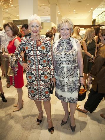 Barbara Daseke, Laree Hulshoff, Crystal Charity Ball, Alexander McQueen