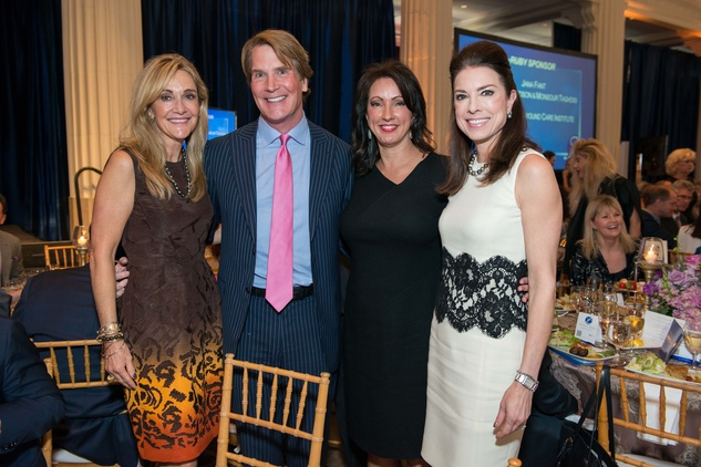 Jana Arnoldy, from left, George Lancaster, Alicia Smith and Karen Payne at the Legacy Luncheon September 2014