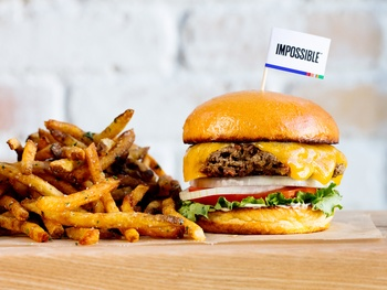 Hopdoddy adds Impossible veggie burger with meaty taste to menu
