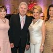 Memorial Hermann Razzle Dazzle luncheon, Hallie Vanderhider, Steve Tyrell, Philamena Baird, Regina Garcia