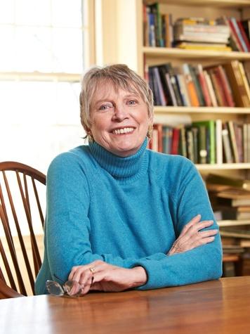Lois Lowry, author, head shot, 2012