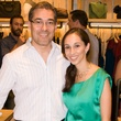 Martin Pacharne, Carolina Cespedes at Steven Alan store opening in Dallas