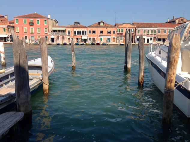 Italy's island town of Murano is just a short boat ride from Venice.