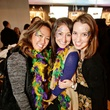 23 Allison Dyer, from left, Beth Davis and Allison Schaffer at Gray's Public House Mardi Gras grand opening benefiting Urban Green February 2015