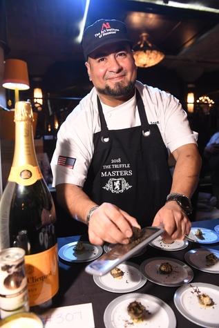 Houston, Truffle Masters, January 2018, A'Bouzy Chef Jose Ruiz