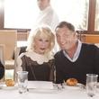 Diane Lokey Farb and Neal Hamil at Neal Hamil's birthday party November 2014