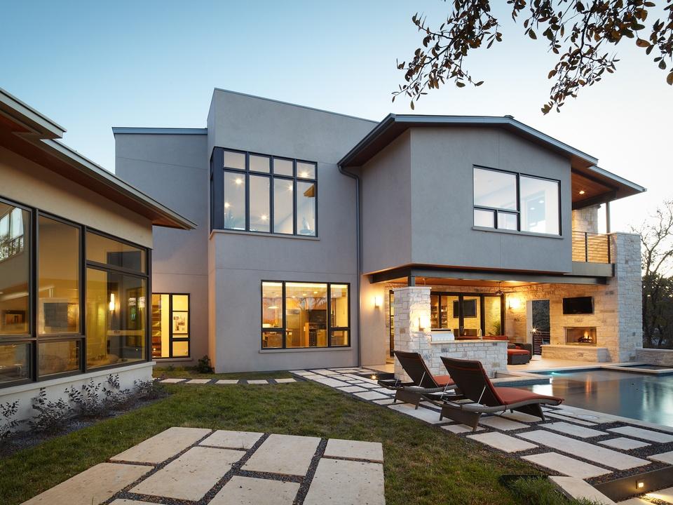 A first look at this weekend 39 s modern home tour austin for Modern house 49