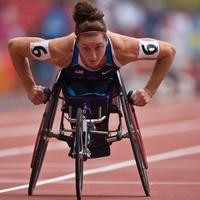 Jayme, Paralympics, July 2012, Tatyana McFadden