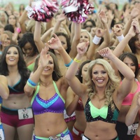Houston Texans cheerleader tryouts