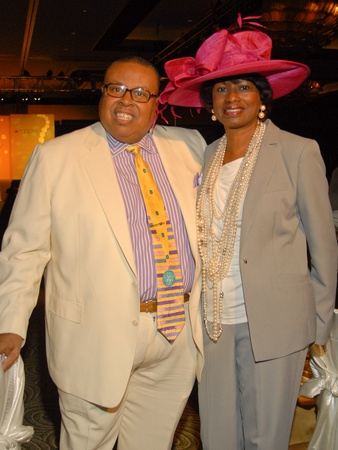 Brentwood luncheon, June 2012, Joe Ratliff, Glenda Hopkins