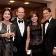 Stephanie Tucker, from left, Bill Finnegan and Molly and Ken Delery at the Rienzi Society dinner January 2014