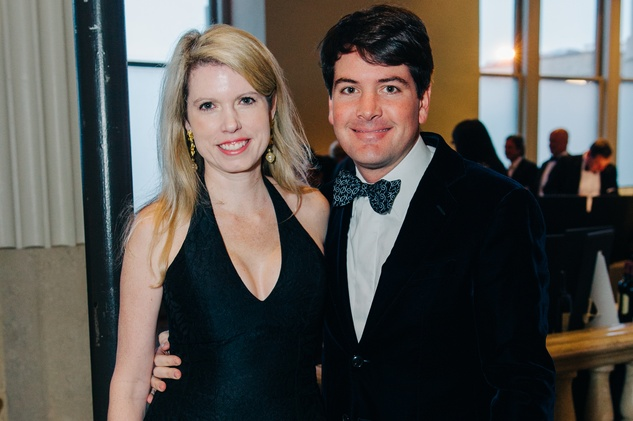 165 Bill and Courtney Toomey at the Houston Symphony Wolfgang Puck wine dinner March 2015