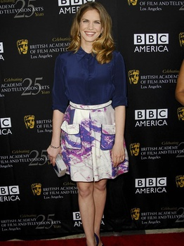 Anna Chlumsky, David Peck, BAFTA TV Tea Party, Los Angeles, September 2012